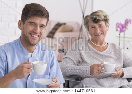 A Cup Of Tea With My Favourite Pensioner