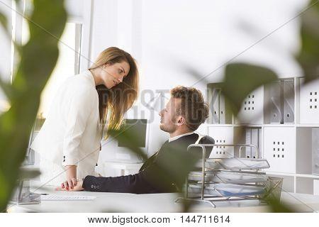 Flirt With The Boss