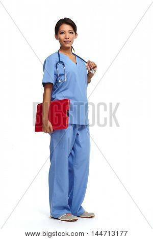 Chinese doctor woman.