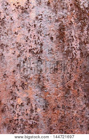 Background rusty old metal and iron pattern texture. Great for graffiti inscriptions.