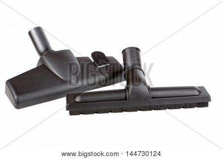 Brushes For The Vacuum Cleaner Isolated On A White Background