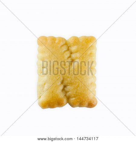 N-shape Cracker in the form of the alphabet