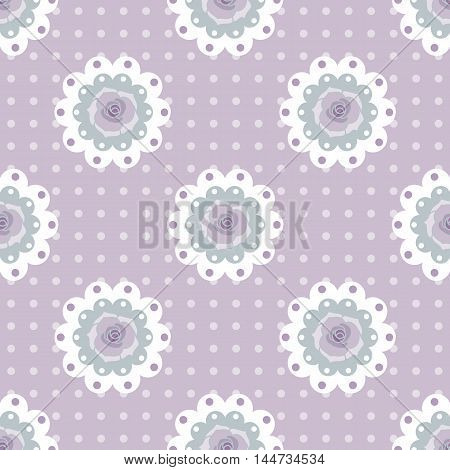 seamless rose background and pattern vector illustration