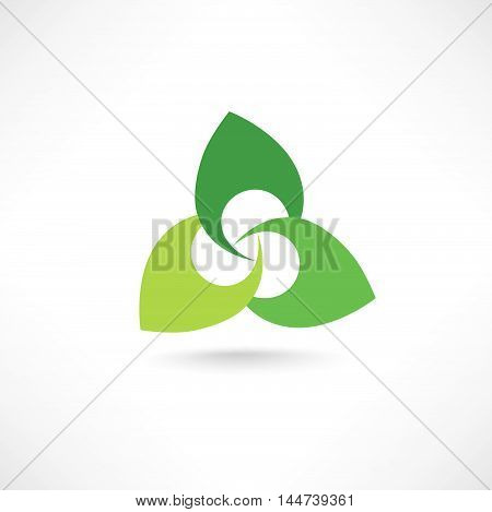 Floral logo for beauty salon cosmetics spa health design. Vector flower insignia. Morden design floral icon.