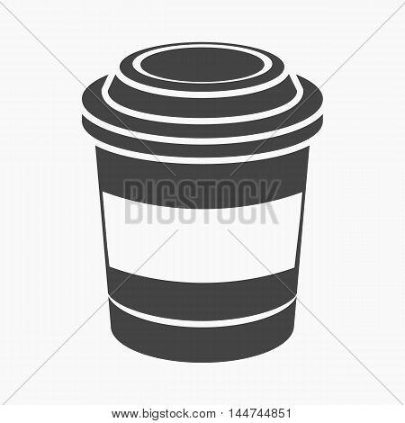 Coffee vector illustration icon in simple design