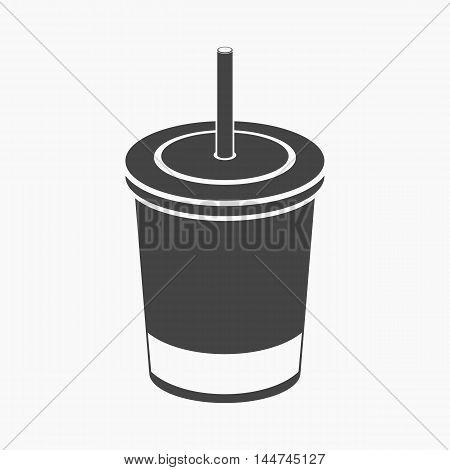 Cola vector illustration icon in simple design