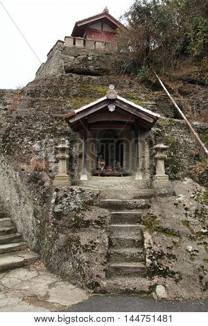 Kanzenon temple in Iwami ginzan silver mine