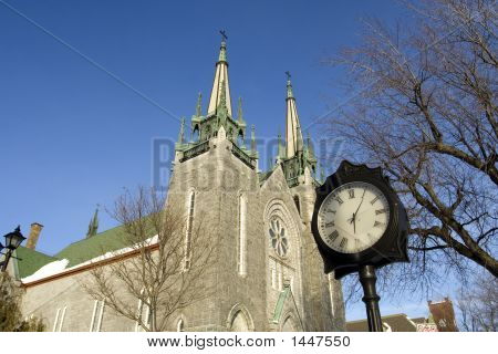 Time To Pray - Canadian Church In Spring