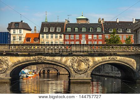 Scenery Of Beautiful Sunny Day In Copenhagen, Denmark
