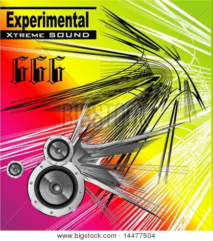 VECTOR experimental extreme sound template