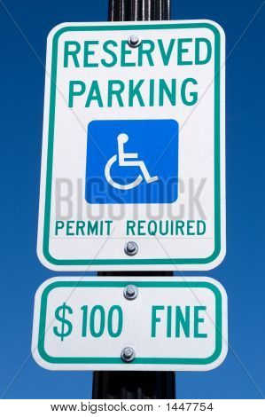 Handicap Reserved Parking