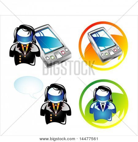 VECTOR business and pocketpc buttons