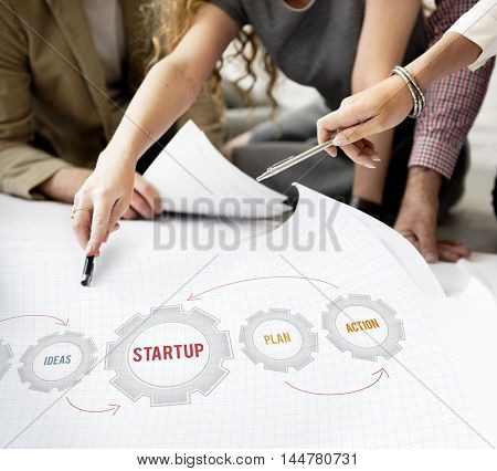 Business Start Up New Investment Concept