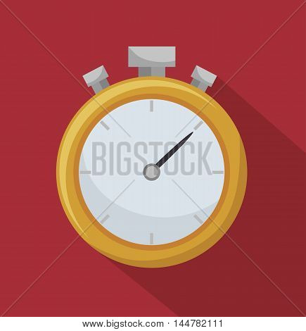 chronometer timer counter d icon vector illustration design