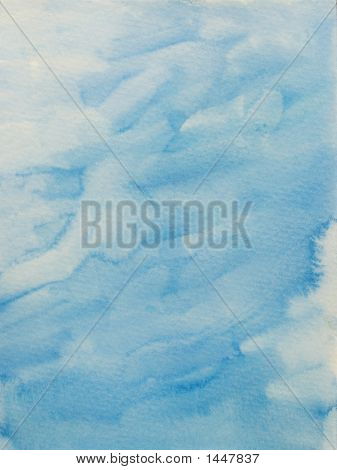 Fuffy Light Blue Background