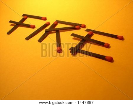 Fire Risk With Matches