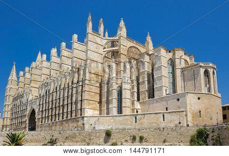 La Seu, The Cathedral of Palma de Mallorca, Spain