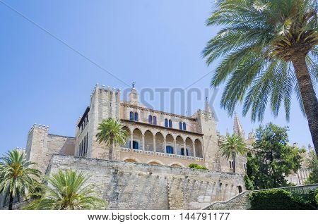 Almudaina Palace, island Mallorca, Palma de Mallorca, Spain