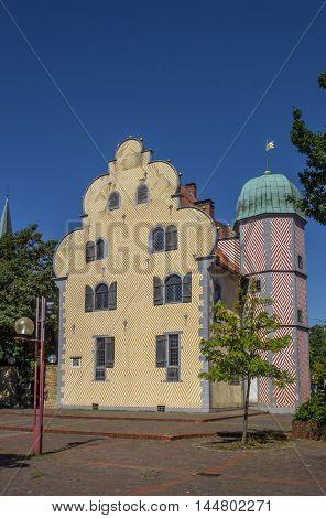 Historical Building Ledenhof In The Center Of Osnabruck