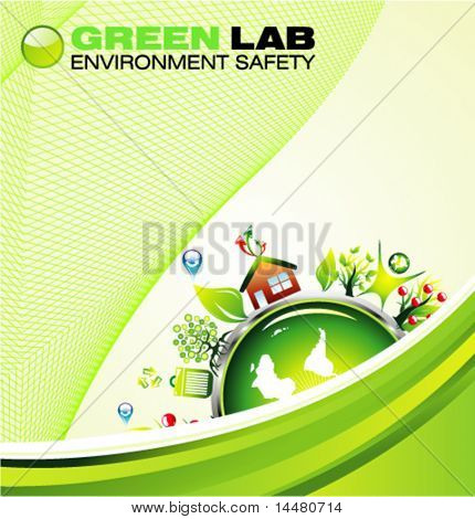 VECTOR environment safety background template