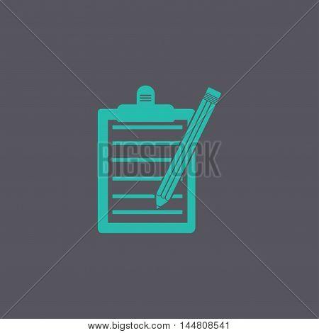 Pictograph Of Checklist