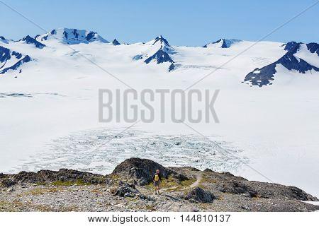 Exit Glacier, Kenai Fjords National Park, Seward, Alaska