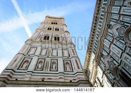 Campanile,Bell Tower, Piazza del Duomo Florence Italy
