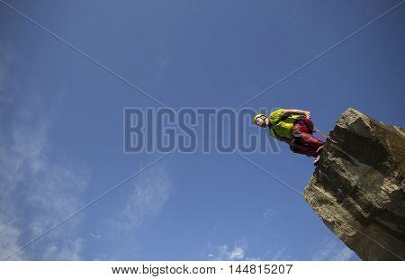 Jump Off A Cliff.