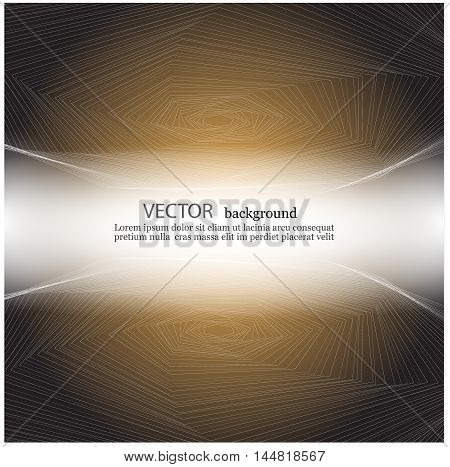 transparent hexagons in perspective vector illustration EPS10
