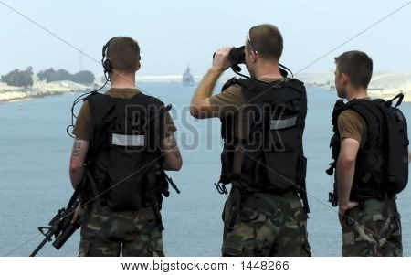 Soldiers On Watch