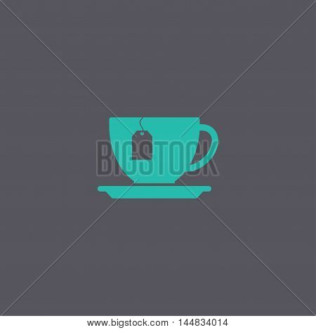 Cup With Tea Bag Icon