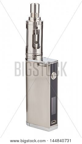 Vaping device isolated on white