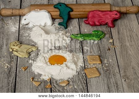 The Preparation Of The Biscuits , The Ingredients