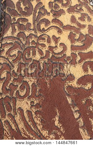 Floral Ornament Leather