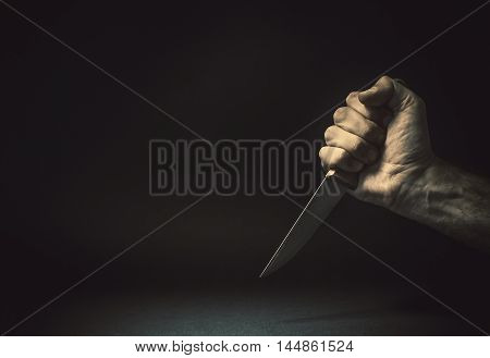 In Front Of A Knife