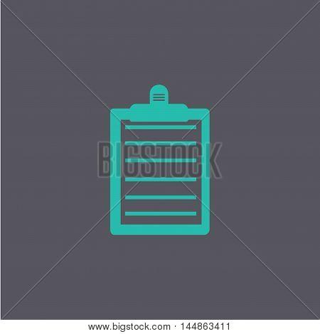 Personal Organizer. Flat Design Style.