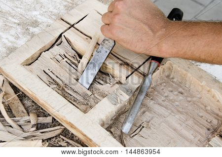 joinery tools - yourself making wooden box