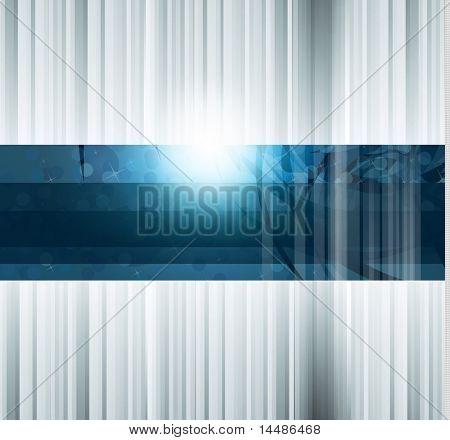 HiTech abstrakt Business Hintergrund mit abstrakten glühend Motiv