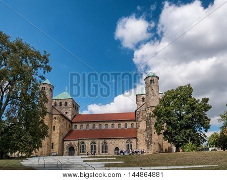 St. Michaelis church in old Hildesheim Germany