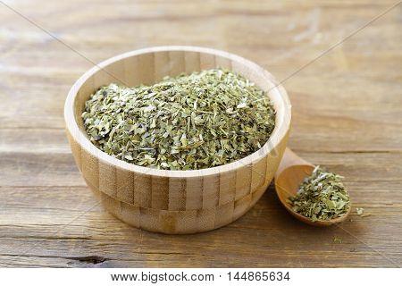 Traditional yerba mate green tea, healthy food