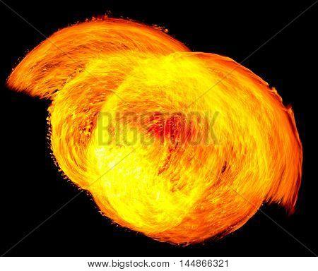 Human Torch Burning Man