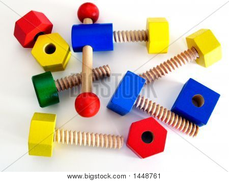 Colored Wooden Toy