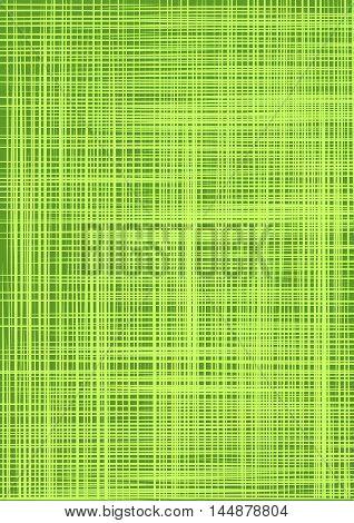 Green burlap. Green cloth texture background. Natural green cloth. Canvas texture. Natural linen seamless pattern. Linen striped green textured sacking burlap background. Vector background.