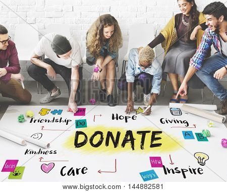 Charity Community Share Help Concept