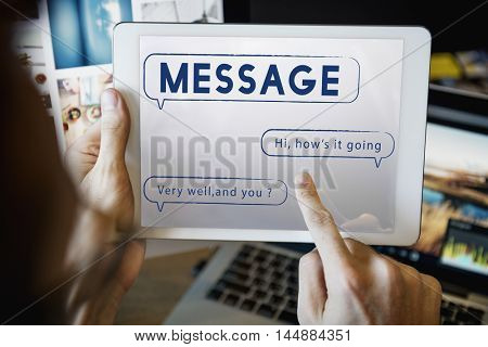 Message Text Mail Chat Communication Concept