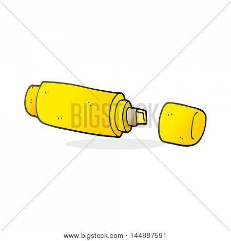 freehand drawn cartoon marker pen