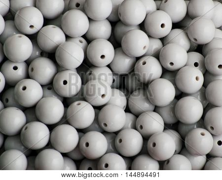 gray beads. background gray beads. background gray beads. background