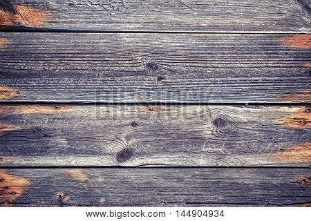 wooden background from the old parallel lying pine boards