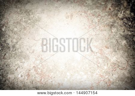 Abstract background texture of an old natural luxury, modern style marble with specks Classic white, light yellow, red, orange, black and dark gray grungy stone of retro wall in lobby, studio interior