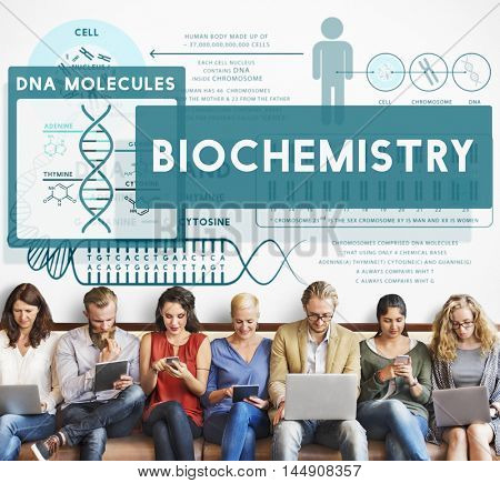 Biochemistry Science Technology Experiment Concept